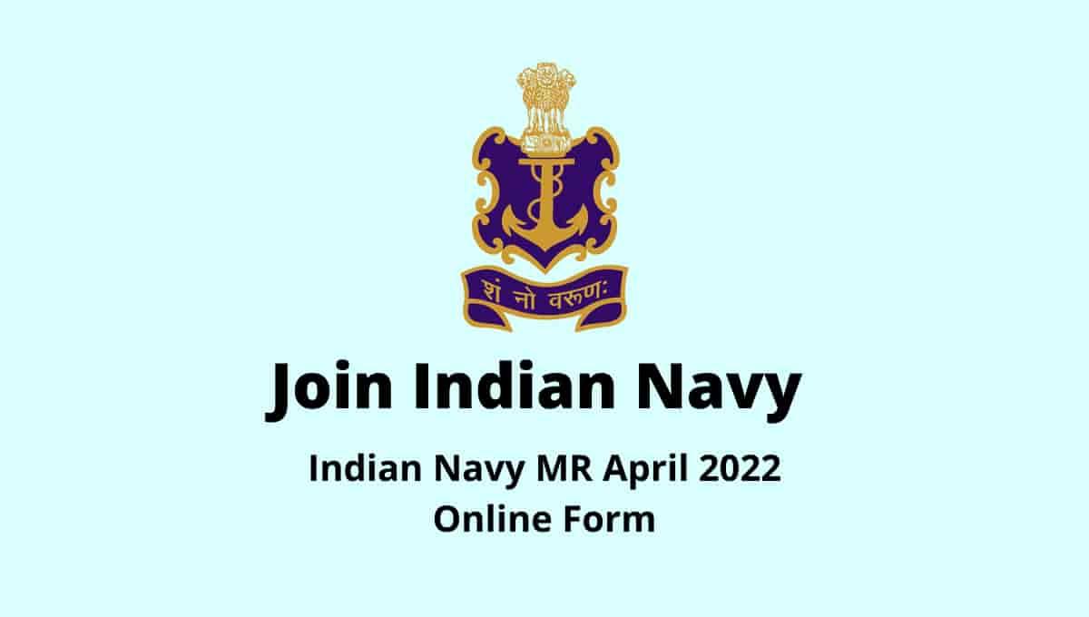 Indian Navy MR April 2022