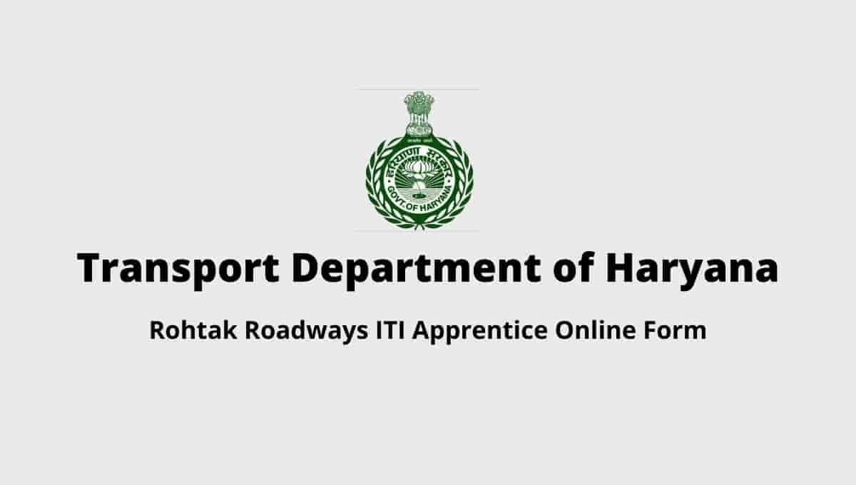 Rohtak Roadways ITI Apprentice Online